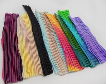 Mix N18 Silk Shibori ribbon
