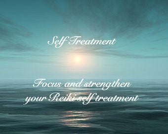 Reiki Self Treatment Audio Guided Meditation