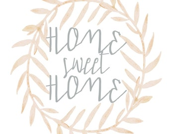 Home Sweet Home 8x10 printable