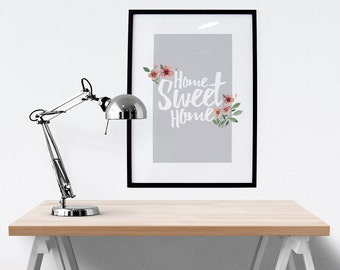 Home Sweet Home - Typographic Print