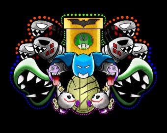 Mario Batman (Fan Art)