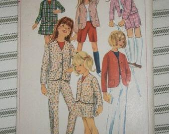 Simplicity Teen Girls  6901 Pattern sz 14 1966
