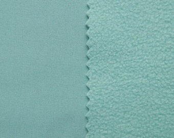 Nanotex™ Softshell with the climate membrane - color: mento - 0.5 m