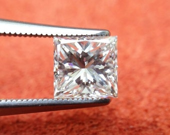 GIA Certified 0.77ct., I color, VS2 clarity Princess Cut Natural Diamond