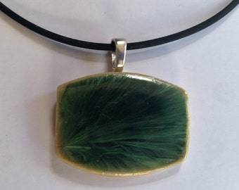 Night Forest Pendant & Cord
