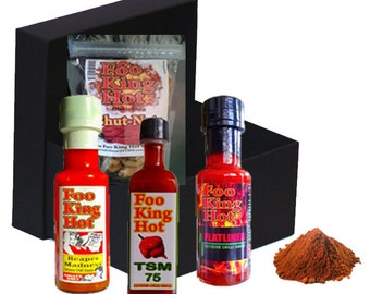 Foo King Hot - Chilli Lovers Gift Box