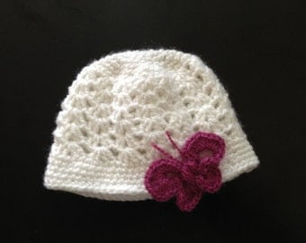 Tuque baby butterfly