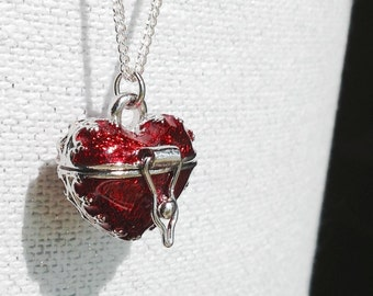 "CC's ""I Carry Your Heart"" Locket Necklace"