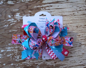 Disney Princess Boutique Style Hair Bow
