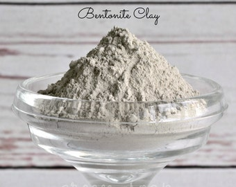 Bentonite Clay, Clay Mask, Face Mask, Detox Mask, Healing Clay, Bentonite Clay Soap, Detox Bath Bomb, Acne Mask, Cosmetic Clay 4 oz or 2LBs