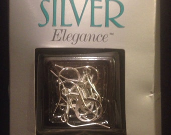 Sterling Silver Fish Hook pair