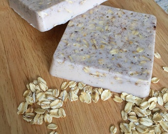 Honey Almond Oats Soap Bar -  Oatmeal Soap - Soap Bar - Cinnamon & Oatmeal - All Natural Soap - Honey Soap