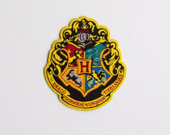 Harry Potter Hogwarts Houses patch - iron-on 3 inch patch