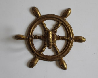 Vintage Brass Nautical Coat Hook