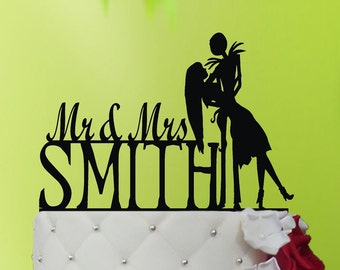 Cake Topper - jack and sally cake topper - Jack Skellington Wedding Cake Topper - jack and sally Wedding