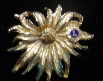 American Legion Flower Brooch