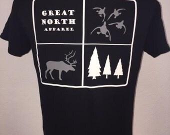 Hunting 4-squar Great North Apparel