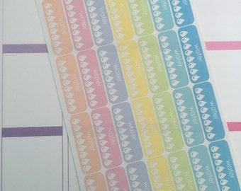 Water Planner Stickers