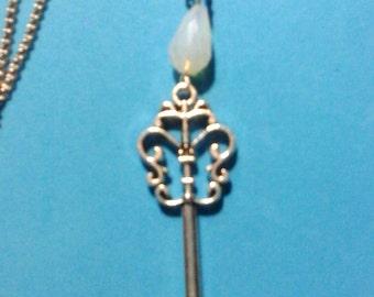 Silver Key Pendant