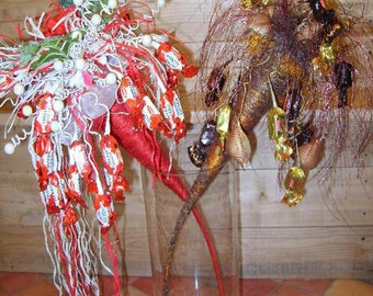 Unique gift - chocolate candy bouquet