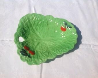 Beswick cherry dish cabbage ware