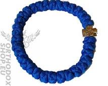 Brojanica, Chotki, Komboskini, Бројаница, 33 knots, prayer ropes, prayer beads, blue