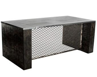 Metal/Aviator Executive Desk