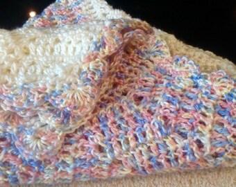 Chevron Baby Blanket Handmade