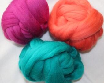 Wool top or roving