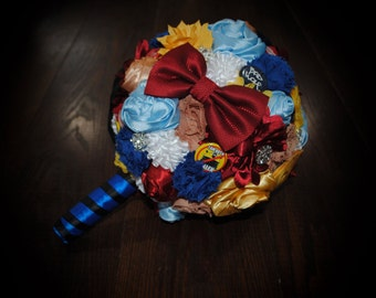 Doctor Who Themed Wedding Bouquet