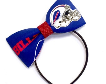Buffalo Bills fabric bow