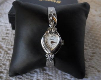 Vintage Heart Watch By Remington #202