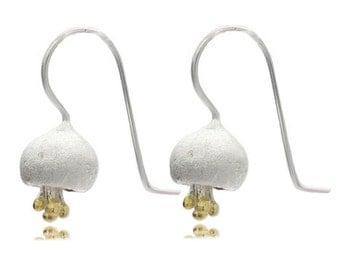 Flowers earrings, 925 Sterling Silver flower earrings, earing, sterling silver