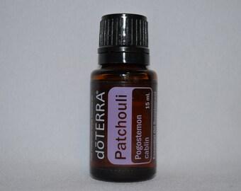 Doterra Patchouli Essential Oil 15mL bottle