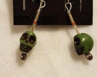 Green Skull Drop