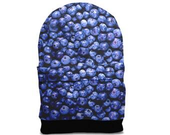 SALE! Blueberry backpack bag