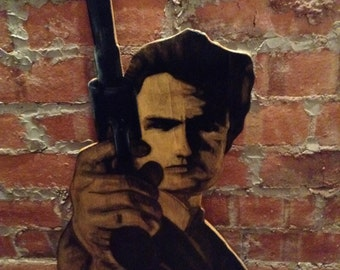 Dirty Harry wall art