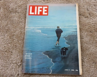 Vintage LIFE Magazine June 14, 1968