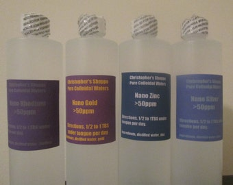 4 pack deal any 4 32 oz Nano Colloidal's delivered*