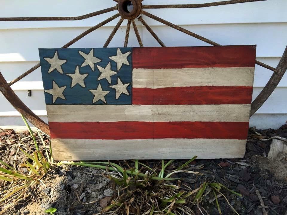 American flag yard decor yard decor flag yard decor flag - Flag decorations for home ...