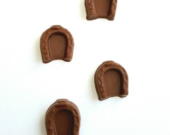 Chocolate horseshoes 12 in a gift bag
