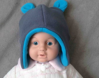 Bonnet for baby with ears Pooh