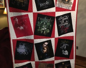 Twilight T-Shirt Dizzy Dozen Quilt