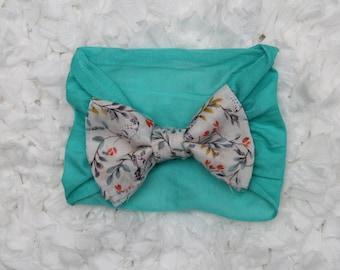 Printed Bow Turban