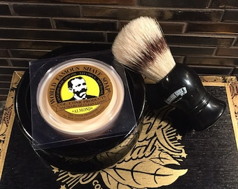 Shaving Kit. Shaving Brush, Bowl and Soap. Christmas Gifts. Husband Gift. Mens Gift. Groomsmen Gift. Birthday Gift For Him. Groomsmen Gifts.