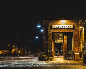 Flagstaff Train Depot - Photography Print