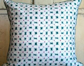 Custom made Organic Cotton fabric decorative pillow