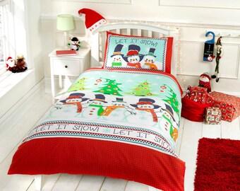 Snowman & Friends duvet sets