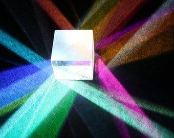 Abstract Geometric photography, Color Cube, Print