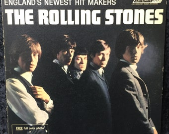 """The Rolling Stones """"The Rolling Stones"""" 1964 US Mono Release"""